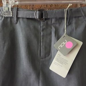 NAU Heather Grey Skirt NWT Organic Cotton Sz 10
